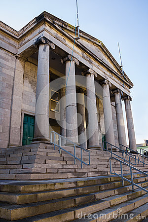 Free Courthouse. Tralee. Ireland Stock Photo - 81467390