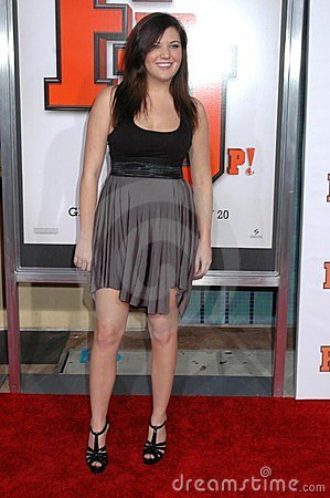 Courtney Fleming at the World Premiere of  Fired Up! . Pacific Theaters Culver Stadium 12, Culver City, CA. 02-19-09 Editorial Image