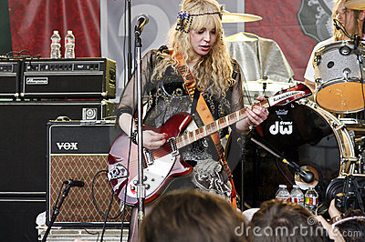 Courtney Love Plays SXSW 2010 Editorial Photography