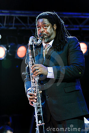 Courtney Pine, Jazz Koktebel Festival 2009 Editorial Photo
