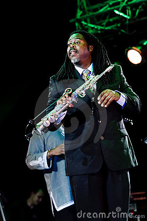 Courtney Pine, Jazz Koktebel Festival 2009 Editorial Image