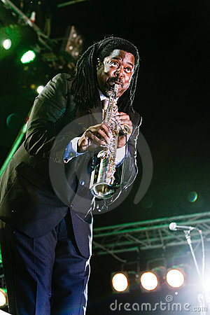 Courtney Pine, Jazz Koktebel Festival 2009 Editorial Photography