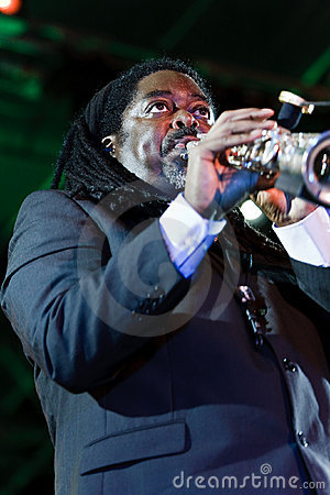 Courtney Pine, Jazz Koktebel Festival 2009 Editorial Stock Photo