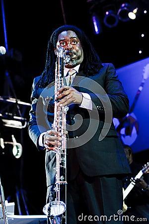 Courtney Pine, Jazz Koktebel Festival 2009 Editorial Photography