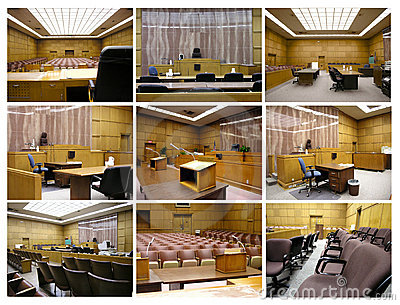 Courtroom Collage