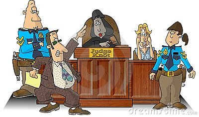 Courtroom I Royalty Free Stock Photography - Image: 47737