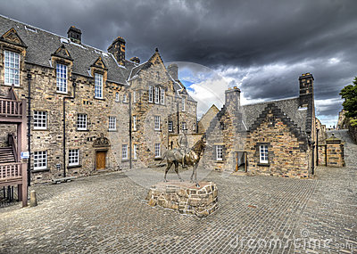 Courtyard of Edinburgh Castle