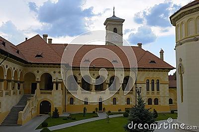 Courtyard of an Orthodox Abbey