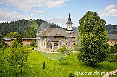 Sucevita orthodox monastery