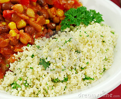 Couscous And Lentil Hotpot