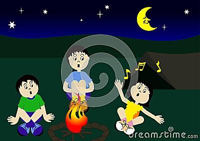 Cousins Campfire
