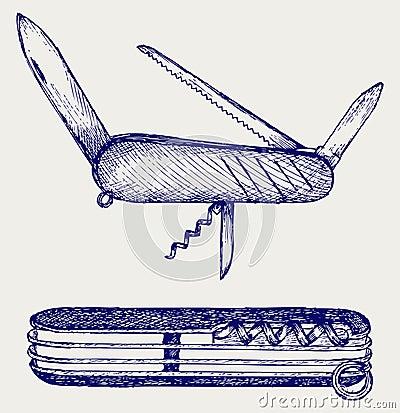 Couteau militaire suisse