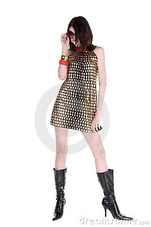 Free Couture Fashion Model Stock Image - 4632281