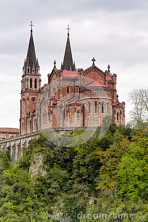 Free Covadonga Sanctuary, Asturias, Spain Royalty Free Stock Image - 24806146