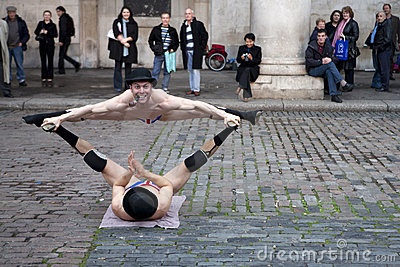 Covent garden perfomance Editorial Photography