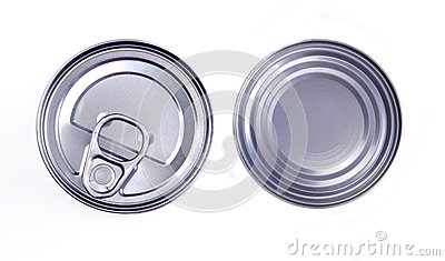 Cover of canned top view