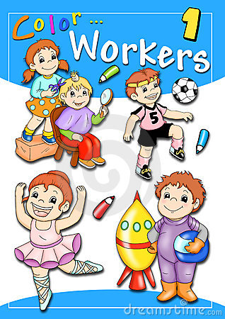 Free Cover - Color Workers 1 Stock Photo - 16335540