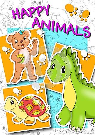Cover - happy animals