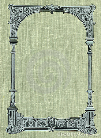 Cover of an old book.