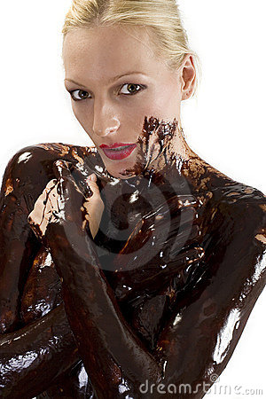 Covered in choclate