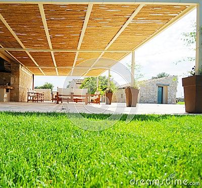 Covered patio or pergola