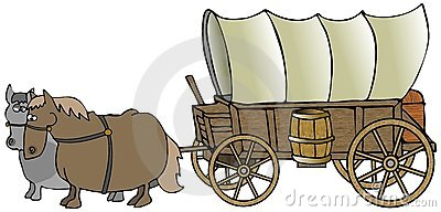 covered wagon royalty free stock photo image 7896465