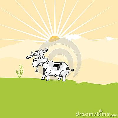 Free Cow Royalty Free Stock Photo - 4376015
