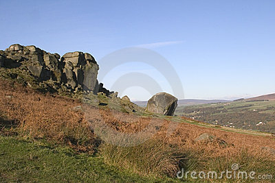 Cow and Calf Rocks, Ilkley Moor, West Yorkshire