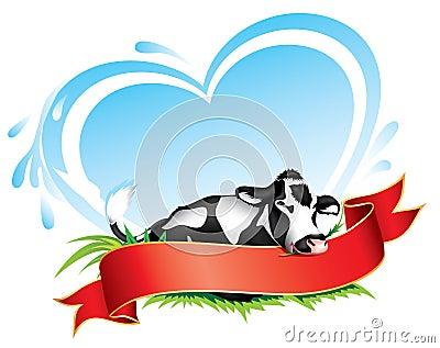 Cow label