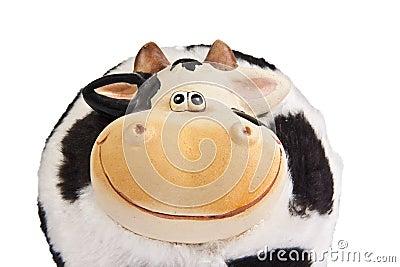 Cow moneybox
