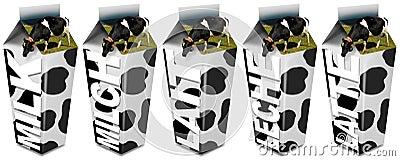Cow s Milk packaging