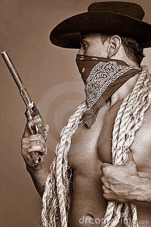 Free Cowboy Royalty Free Stock Photo - 920065