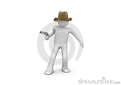 Cowboy Aiming