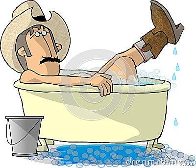 Cowboy Bath