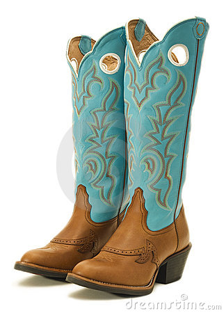 Free Cowboy Boots Royalty Free Stock Photo - 12390315