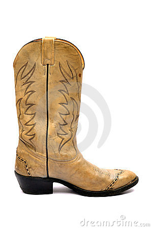 Free Cowboy Boots Royalty Free Stock Photos - 24093318