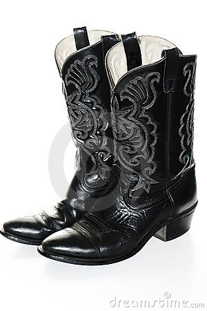 Free Cowboy Boots Stock Photography - 362022