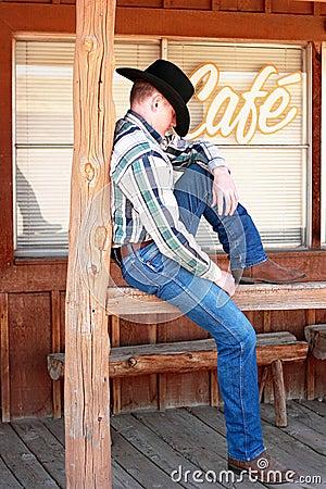 Cowboy Cat Nap