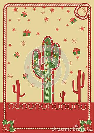 Awe Inspiring Christmas Cactus Stock Vector Image 53787719 Easy Diy Christmas Decorations Tissureus