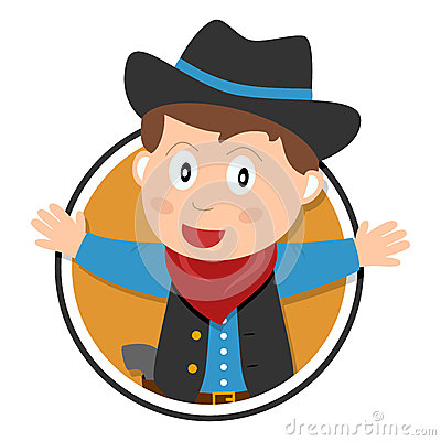 Cowboy Kid Logo