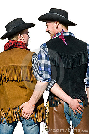 Free Cowboy Love Royalty Free Stock Photos - 14655638