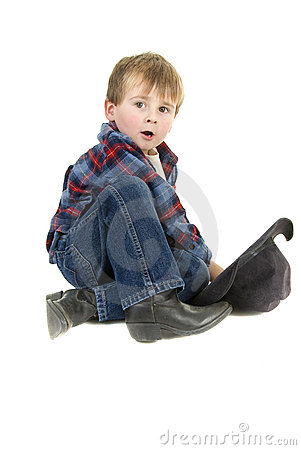 Cowboy Preschooler