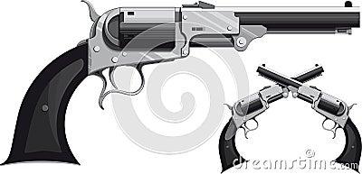 Cowboy revolver