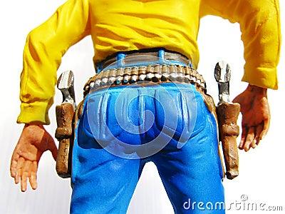 Cowboy toy figure