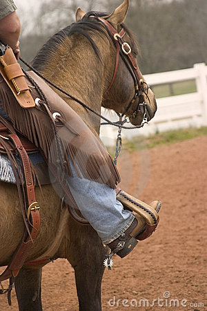 Free Cowboy Up Stock Photography - 605732