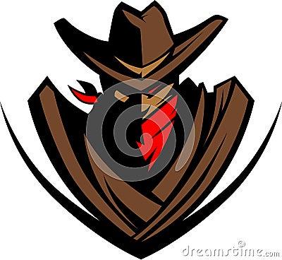 Cowboy Vector Mascot Logo
