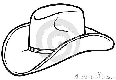 Cowboyhut, ein Symbol, das die Cowboys markiert.