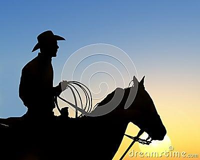 Cowboys Rides Away