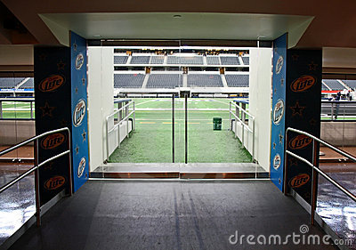 Cowboys Stadium Field Entrance Editorial Photo