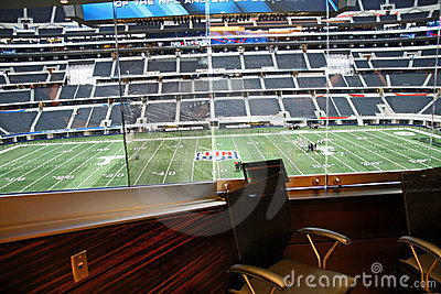 Cowboys Stadium From Jerry Jones  Suite Editorial Image